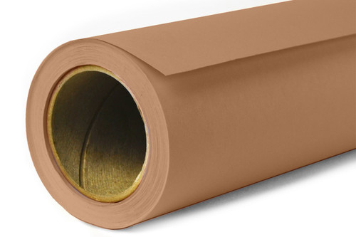 Savage Widetone Background Paper 107 Inch x 12 Yard Roll- #76 Mocha