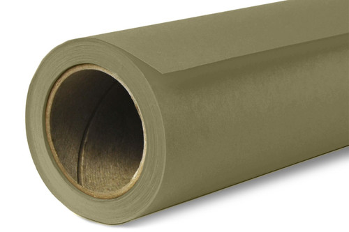 Savage Widetone Background Paper 107 Inch x 12 Yard Roll- #34 Olive Green
