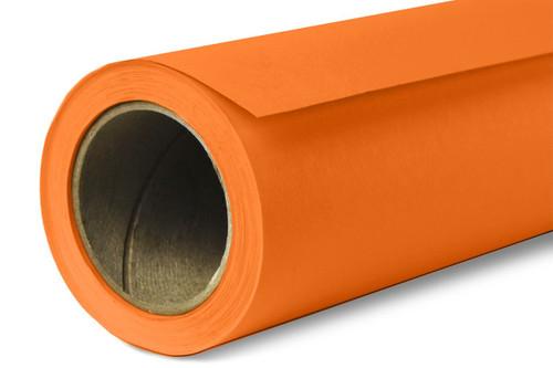 Savage Widetone Background Paper 107 Inch x 12 Yard Roll- #24 Orange