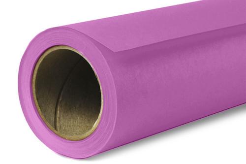 Savage Widetone Background Paper 107 Inch x 12 Yard Roll - #91 Plum