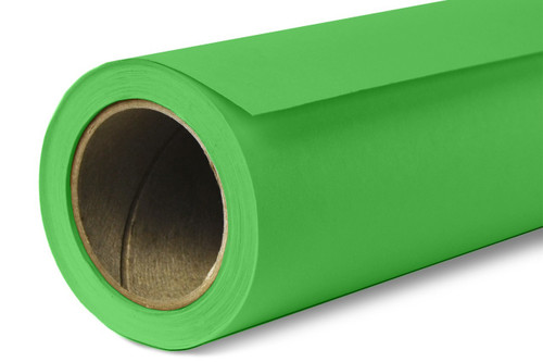 Savage Widetone Background Paper 107 Inch x 12 Yard Roll- #46 Tech Green