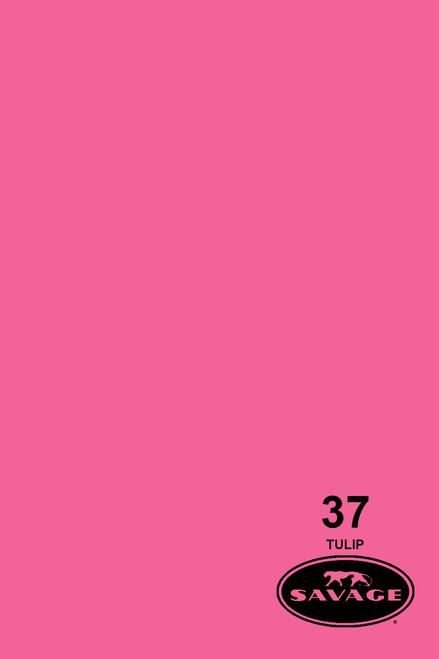 Savage Widetone Background Paper 107 Inch x 12 Yard Roll- #37 Tulip