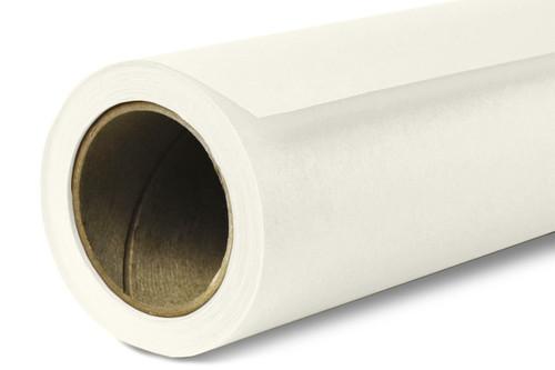 Savage Widetone Background Paper 107 Inch x 12 Yard Roll - #50 White