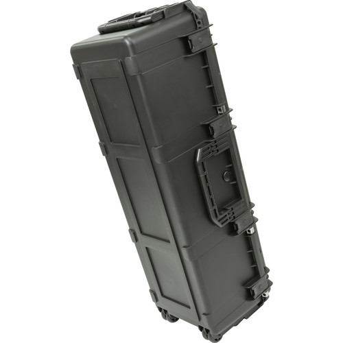 SKB iSeries 4213-12 Case with Think Tank-Designed Lighting/Stand Dividers & Lid Foam- Black