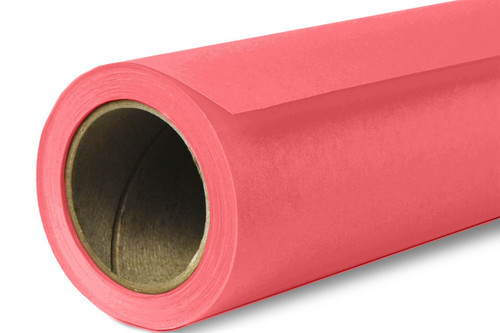 Savage Widetone Background Paper 53 Inch x 12 Yard Roll- #92 Flamingo