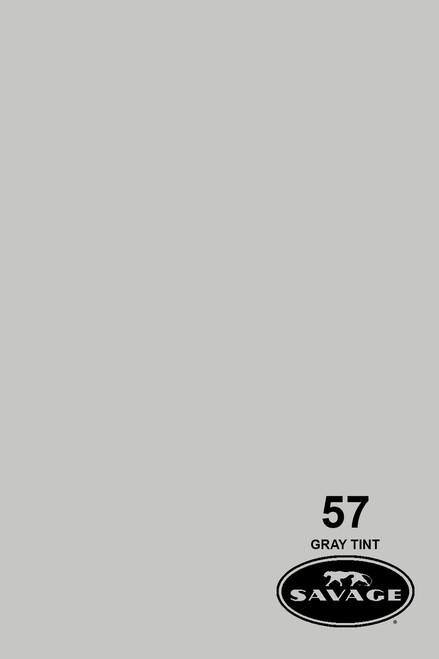 Savage Widetone Background Paper 53 Inch x 12 Yard Roll - #57 Gray Tint