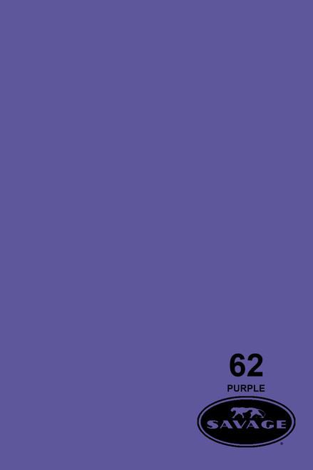 Savage Widetone Background Paper 53 Inch x 12 Yard Roll - #62 Purple