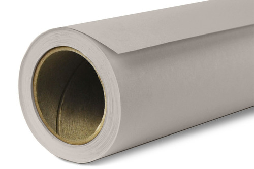 Savage Widetone Background Paper 53 Inch x 12 Yard Roll- #70 Storm Gray