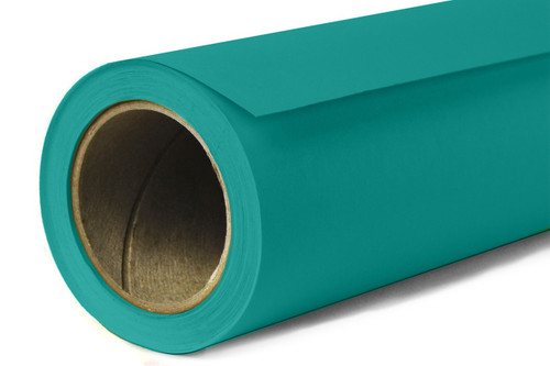 Savage Widetone Background Paper 53 Inch x 12 Yard Roll- #68 Teal