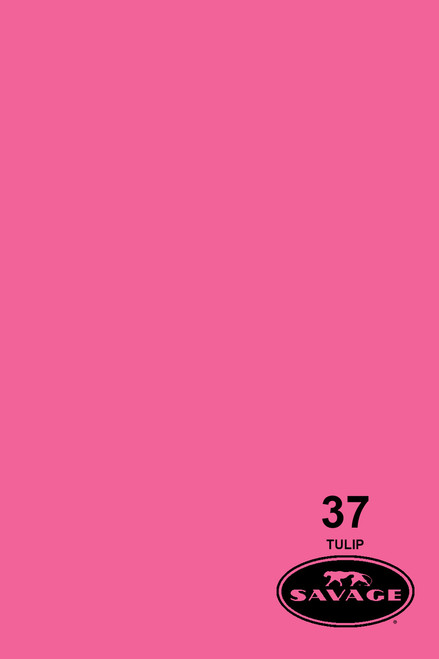 Savage Widetone Background Paper 53 Inch x 12 Yard Roll- #37 Tulip