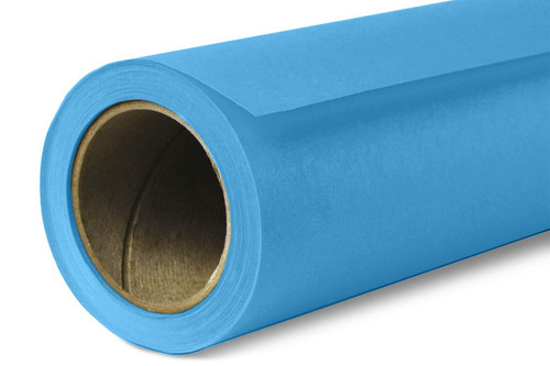 Savage Widetone Background Paper 53 Inch x 12 Yard Roll- #83 Turquoise
