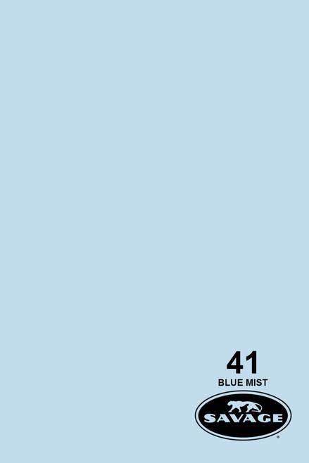 Savage Widetone Background Paper 53 Inch x 12 Yard Roll- #41 Blue Mist