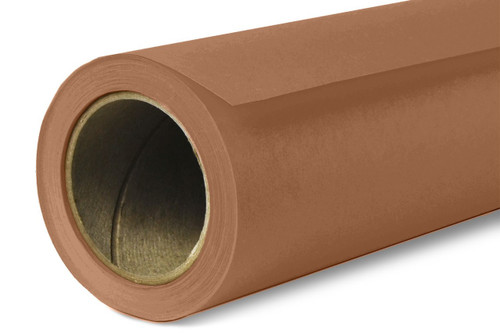 Savage Widetone Background Paper 53 Inch x 12 Yard Roll- #80 Cocoa