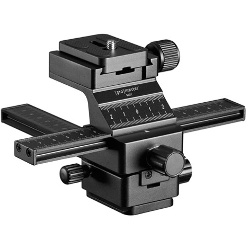 Promaster MR1 Macro Focusing Rail with Quick Release