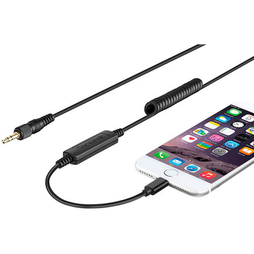 Saramonic LC-C35 Locking 3.5mm Connector to Apple-Certified Lightning Output Cable