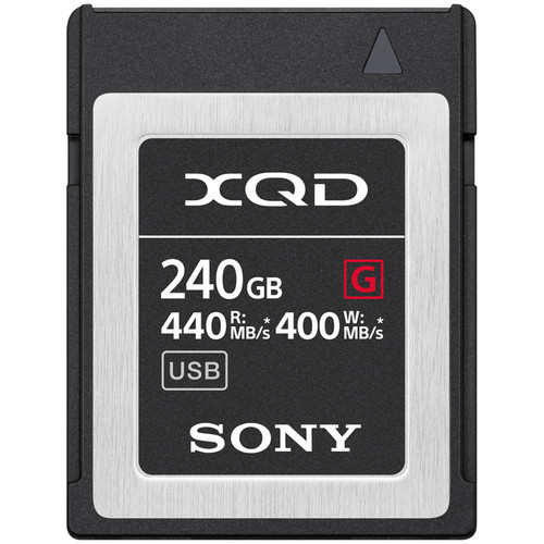 Sony 240GB G Series XQD Memory Card  *Special Order Item*