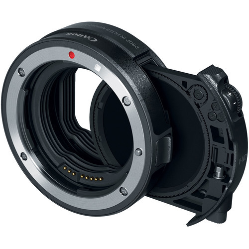 Canon Drop-In Filter Mount Adapter EF-EOS R with ND Filter