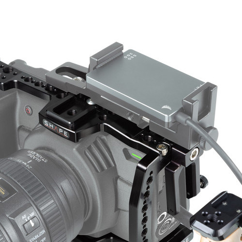 SHAPE Camera Cage with 15mm Rod System for Blackmagic Pocket Cinema 4K