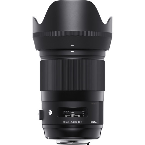 Sigma 40mm f/1.4 DG HSM Art Lens - Sony E Mount