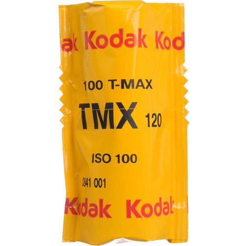 Kodak Professional T-Max 100 Black and White Negative Film- 120 Roll Film