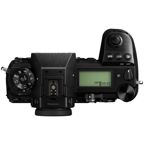 Panasonic Lumix S1R Top View
