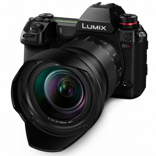 Panasonic Lumix DC-S1R Mirrorless Camera with 24-105mm Lens