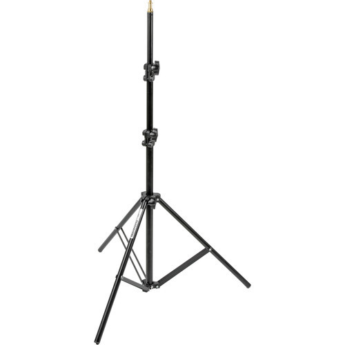 Manfrotto 366B Basic Black Light Stand- 6.4'