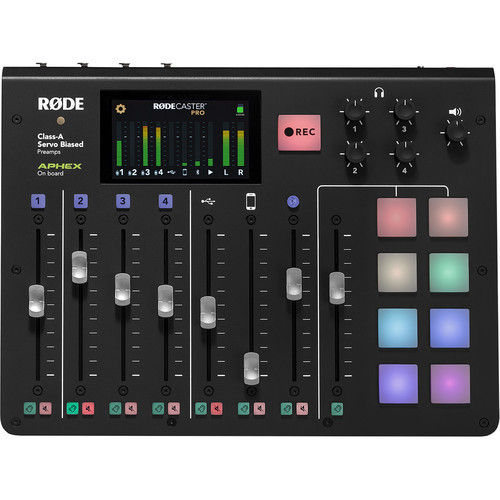 Rode RODECaster Pro Integrated Podcast Production Studio