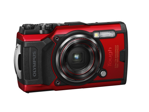 Olympus Tough TG-6 Waterproof Digital Camera- Red