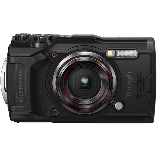 Olympus Tough TG-6 Waterproof Digital Camera- Black