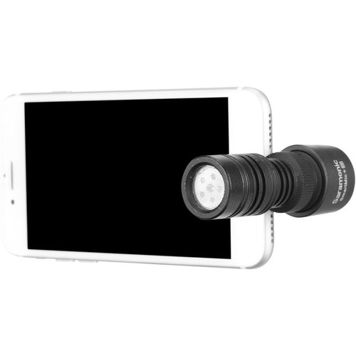 Saramonic SmartMic+ Di Compact Directional Microphone with Lightning Plug for iOS Mobile Devices