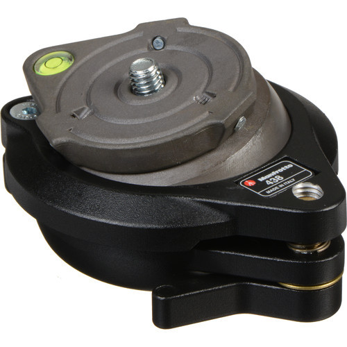 Manfrotto 438 Compact Leveling Head- Ball Camera Leveler