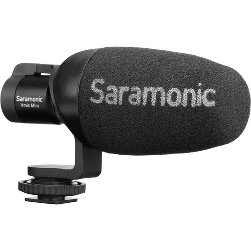 Saramonic Vmic Mini Compact Camera-Mount Shotgun Microphone for DSLR Cameras and Smartphones