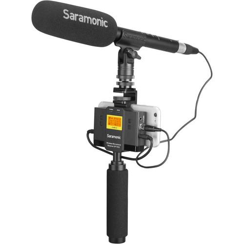 Saramonic SP-RX9 UwMic9 Series Dual-Channel UHF Wireless Receiver/Mixer- 514 to 596 MHz