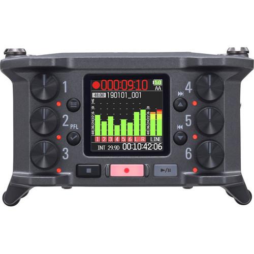 Zoom F6 6-Input / 14-Track Multi-Track Field Recorder