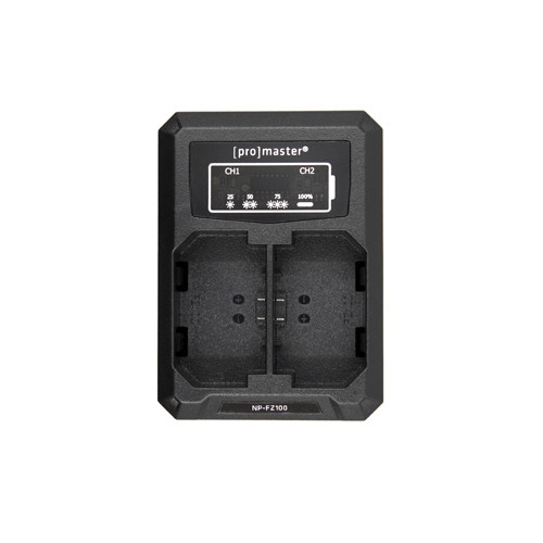ProMaster USB Dually Charger for Sony NP-FZ100