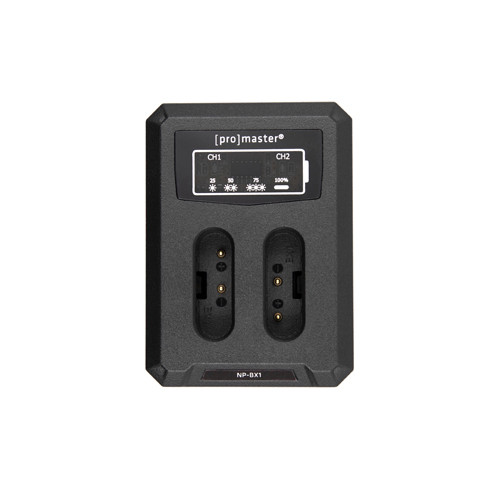ProMaster USB Dually Charger for Sony NP-BX1