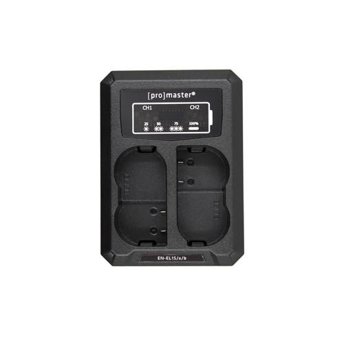 ProMaster USB Dually Charger for Nikon EN-EL15