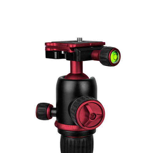 ProMaster XC-M 525K Tripod with Ball Head - Red