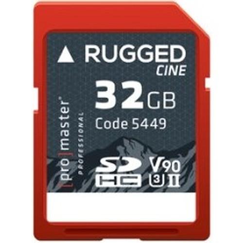 ProMaster Rugged Cine SDHC 32GB UHS-II Memory Card