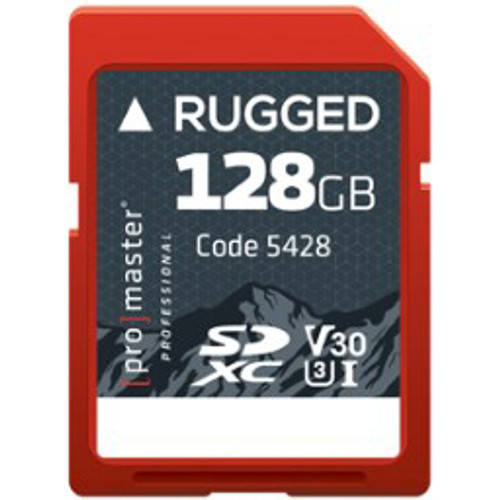 ProMaster Rugged SDXC 128GB UHS-I Memory Card