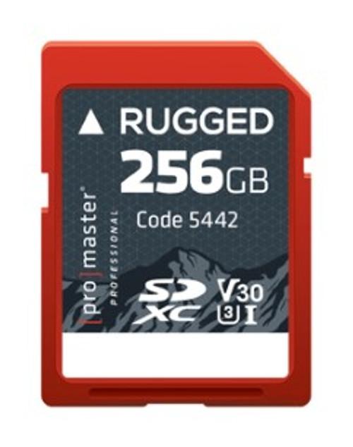 ProMaster Rugged SDXC 256GB UHS-I Memory Card