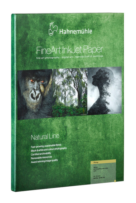 "Hahnemühle Hemp FineArt Natural Line Paper - 17 x 22"", 25 Sheets"