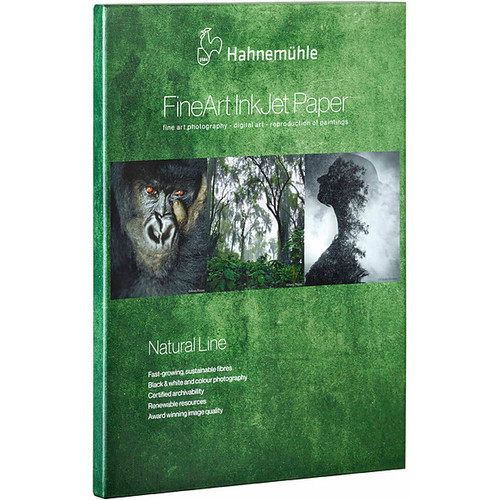 """Hahnemühle FineArt Natural Line Paper Sample Pack - 8.5 x 11"""", 6 Sheets"""