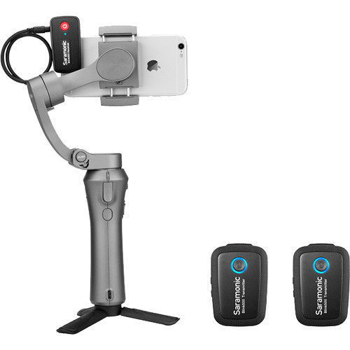 Saramonic Blink 500 B2 Two Person Camera-Mount Wireless Omni Lavalier Microphone System