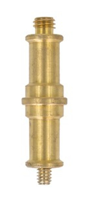 ProMaster Brass Double Spigot 1/4-20 Male to 3/8 Male