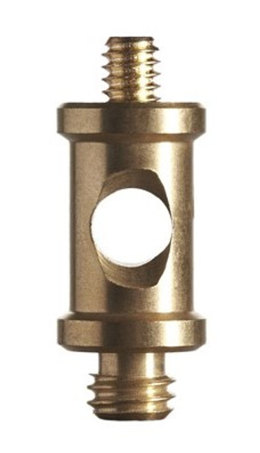 ProMaster Brass Short Spigot 1/4-20 Male to 3/8 Male