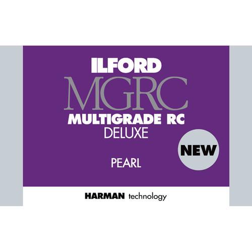 "Ilford Multigrade RC Deluxe Paper - Pearl, 5 x 7"", 25 Sheets"