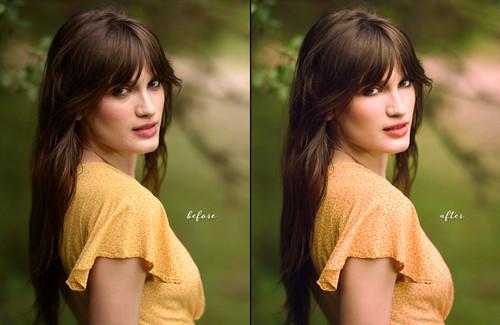 Photoshop Portrait Retouching