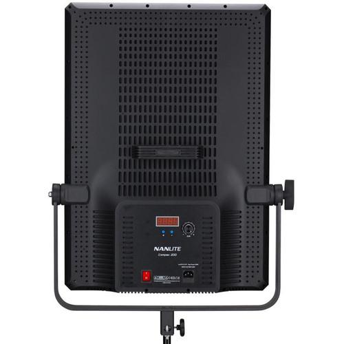NanLite Compac 200 5600K Slim Soft Light Studio LED Panel